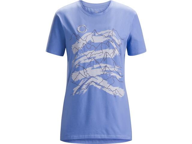 Arc'teryx Playground SS T-Shirt Dame cloudburst